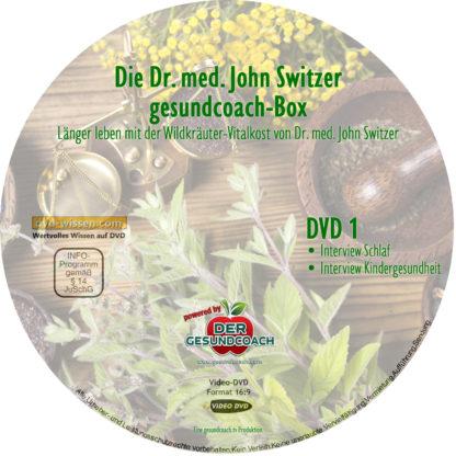 Dr. med. John Switzer: Schlaf, Kindergesundheit, Selbstheilung, Diabetes 1 DVD-Wissen - Experten Know How
