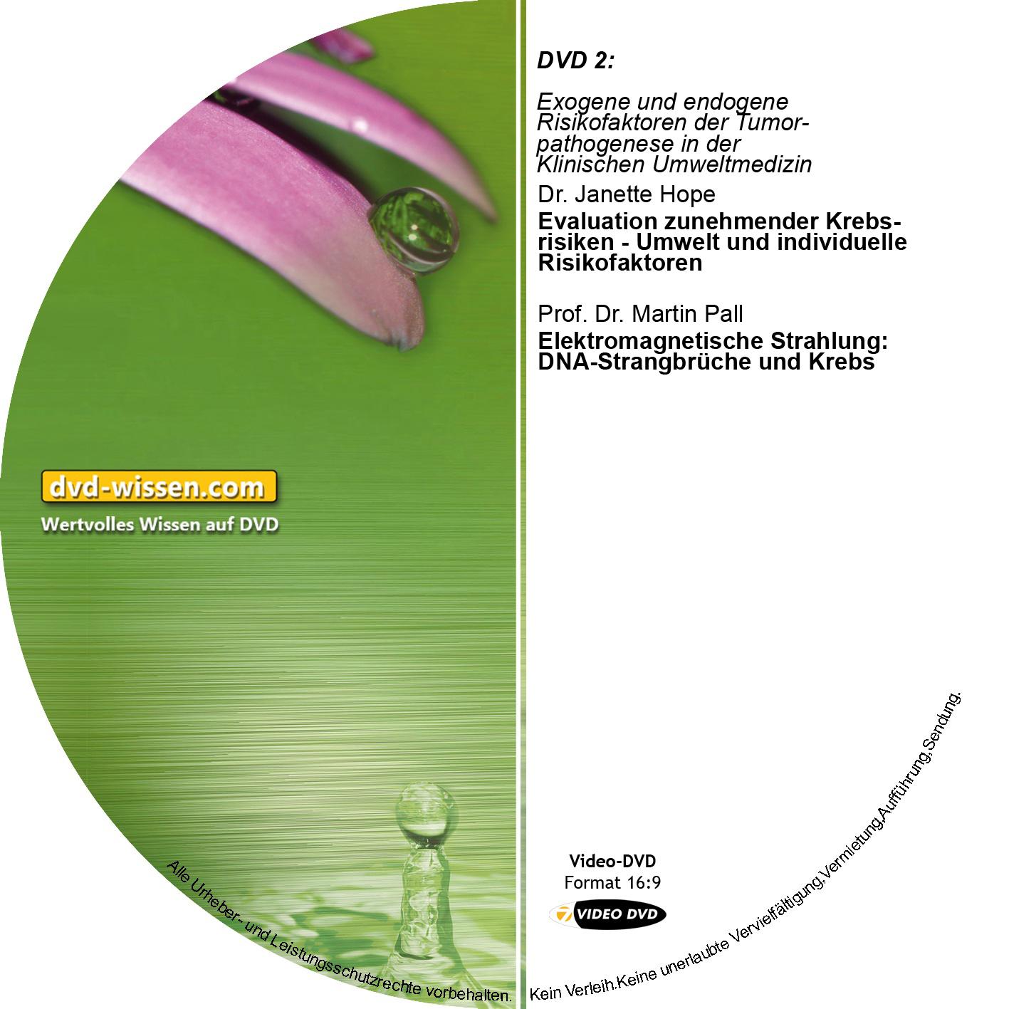 Teil 2: Exogene und endogene Risikofaktoren der  Tumorpathogenese in der Klinischen Umweltmedizin