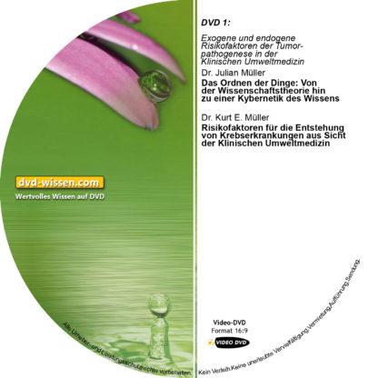 Komplettpaket der Tagung der EUROPAEM e.V. 2014: Onkologie und Klinische Umweltmedizin - Von der Wissenschaft in die Praxis 3 DVD-Wissen - Experten Know How