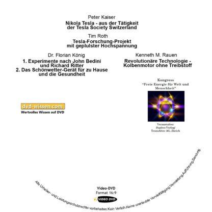 Komplettpaket vom Samstag des Kongresses Freie Energie für Welt und Menschheit 2014 1 DVD-Wissen - Experten Know How