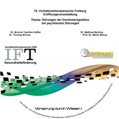 Dr. Thomas Ehring,Dr. Mathias Berking,Prof. Dr. Martin Bohus: Einführungsvorträge zur Emotionsregulation 1 DVD-Wissen - Experten Know How