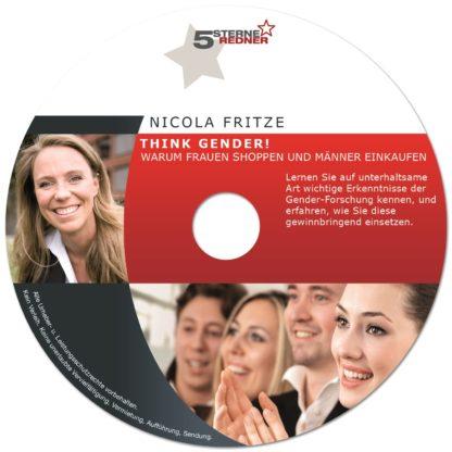 Nicola Fritze: Think Gender! Warum Frauen shoppen und Männer einkaufen! 1 DVD-Wissen - Experten Know How
