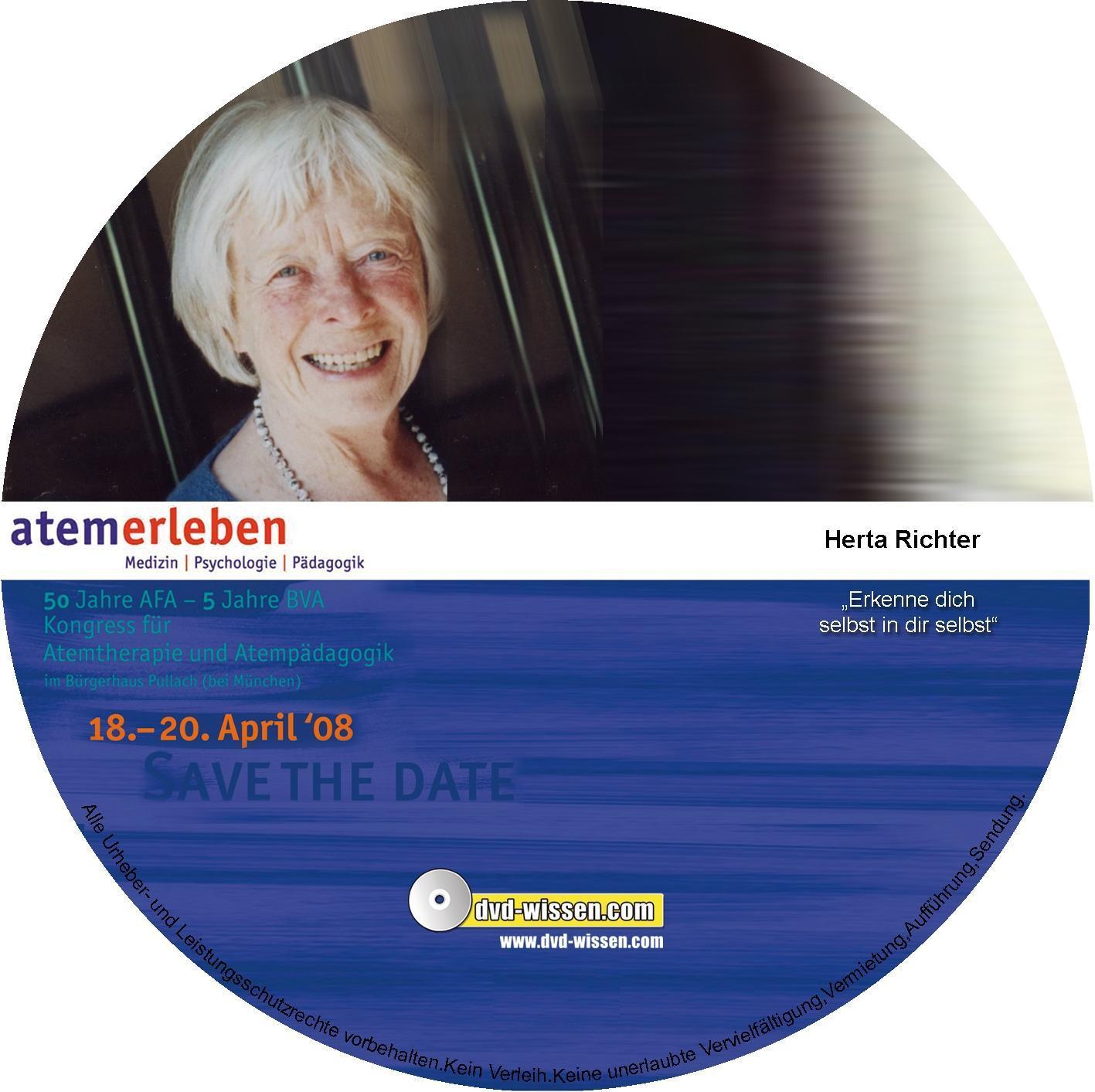 Komplett-Paket (5 Vorträge und Podiumsdiskussion) vom Atem-Kongress 2008