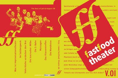 "Fastfood-Improvisationstheater: ""Best-of"" Juli / August 2008"