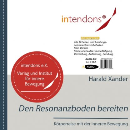Audio-CD - Harald Xander: Den Resonanzboden bereiten - Meditation