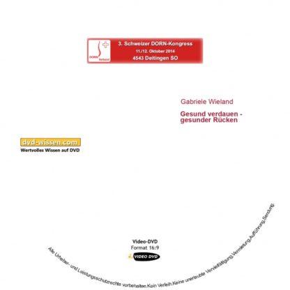Gabriele Wieland: Gesund Verdauen - starker Rücken