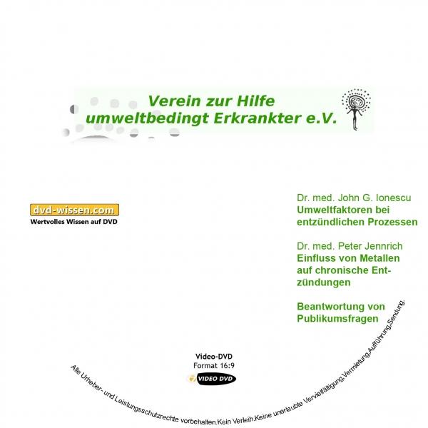 Dr. John G. Ionescu, Dr. Peter Jennrich, Nicole Michels, Walter Wortberg, Marcus Stanton: Komplettpaket der 11. Umwelttagung des VHUE e.V.