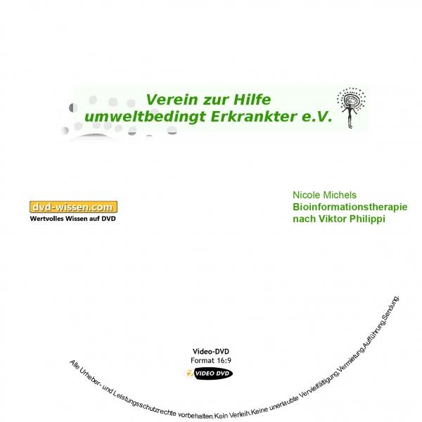 Nicole Michels: Bioinformationstherapie nach Viktor Philippi