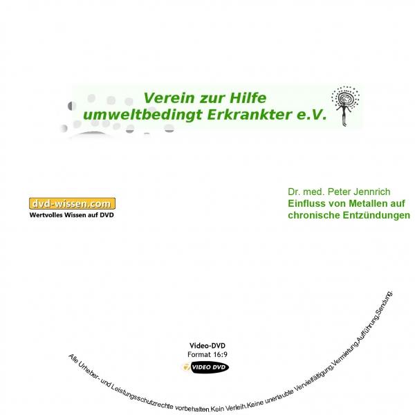 Dr. med. Peter Jennrich: Einfluss von Metallen auf chronische Entzündungen