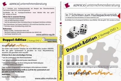 """Markus Schäfer,Bernhard Leibfried,Carl Graner,Harald Klein: """"In 7 Schritten zum Huckepackvertrieb"""" und """"Systematisch ... Kunden gewinnen"""""""