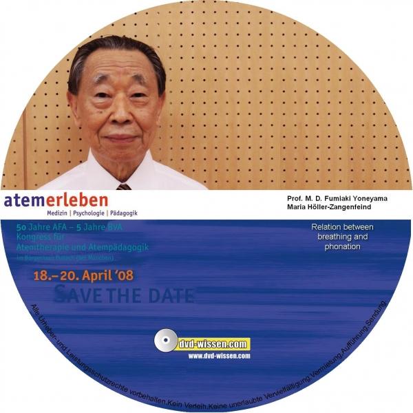 Prof. M. D. Fumiaki Yoneyama: Die Verbindung zwischen Atem und Stimm-/Lautbildung